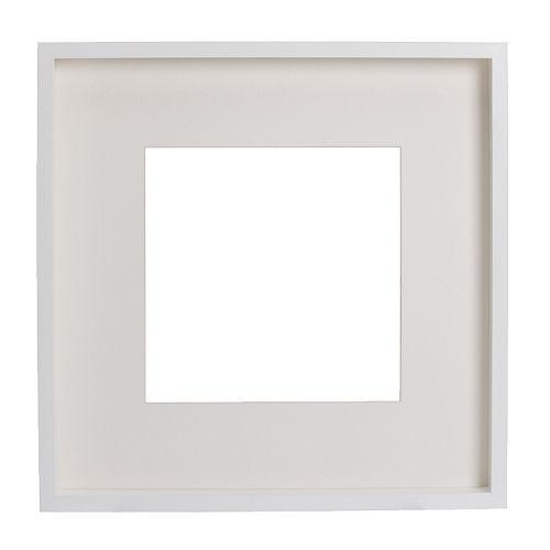 "RIBBA Frame, white - 19 ¾x19 ¾ "" - IKEA"