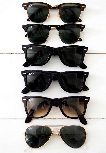 Ray bans. Yes. All of them.