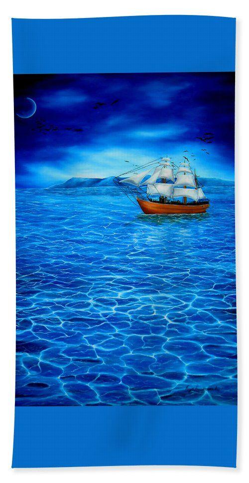 Bath Towel,  home,accessories,bathroom,unique,fancy,cool,trendy,artistic,beautiful,awesome,modern,fashionable,for,sale,decor,unusual,design,items,products,ideas,blue,nautical,marine,sailboat,sea