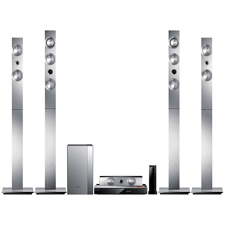 Buy Samsung HT-F9750W 7.1 3D Blu-ray/DVD 4K Smart Home Cinema System Online at johnlewis.com