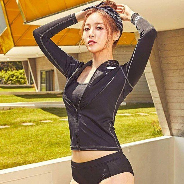 Girl's Day's Yura shows off her attractive body in new 'SWIB' swimwear | allkpop.com