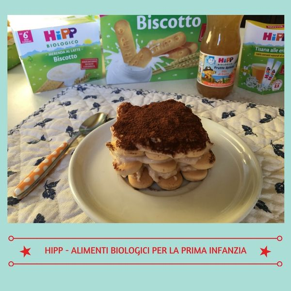 Tiramisù per bambini-  HiPP- Alimenti biologici per la prima infanzia