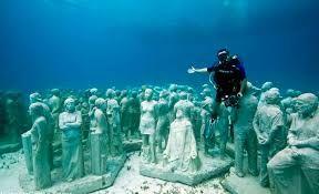 underwater museum cancun - Google Search