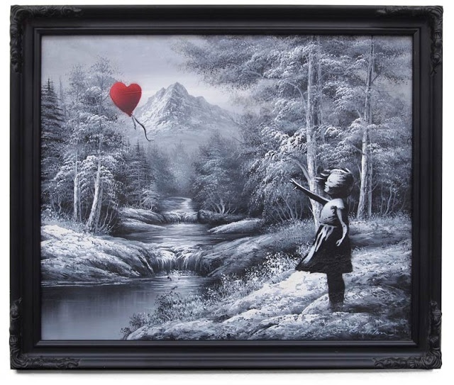 Banksy Canvas Art Collection (Best of / Top 10) - WallArt101