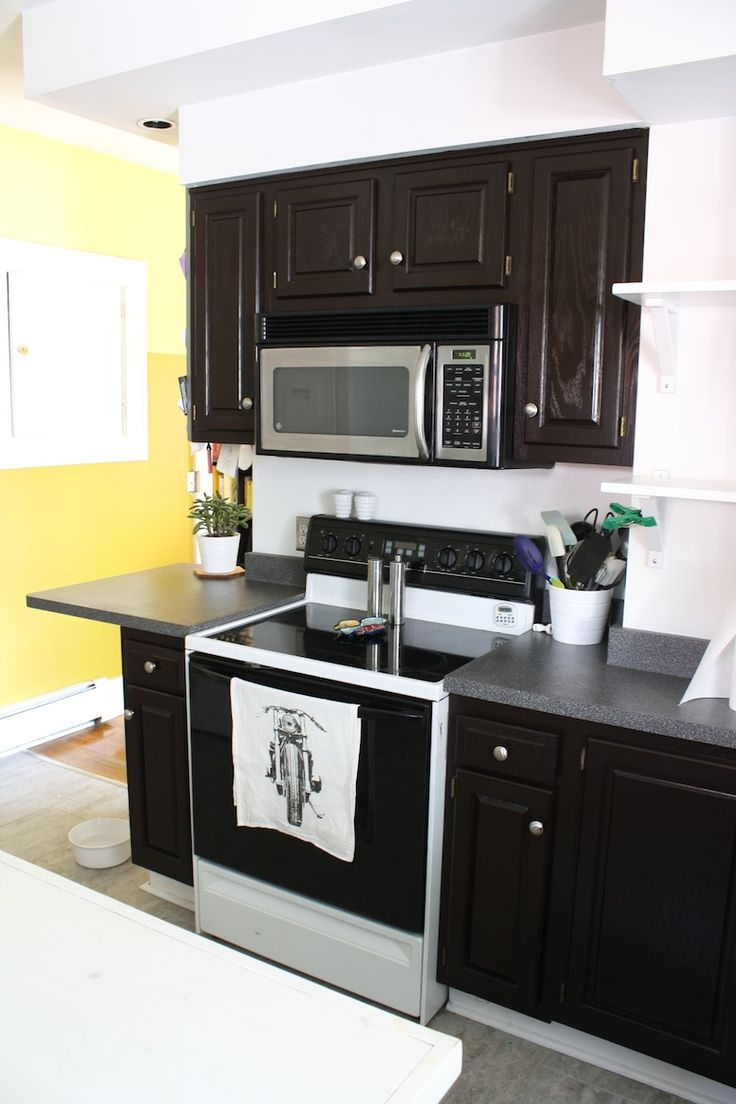 Gel stains oil based saah furniture - Merrypad S Kitchen Cabinet Makeover With Java Gel Stain