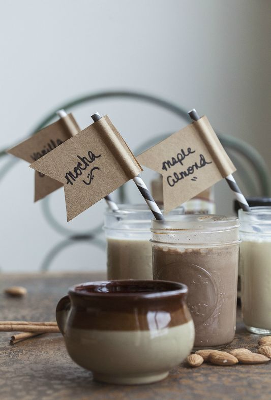 DIY Coffee Creamers....amazingly simple and delish!