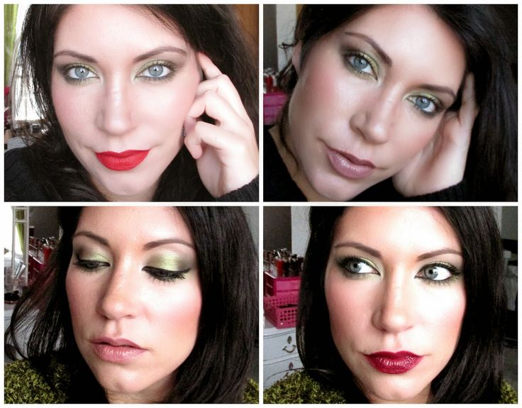 Labiales intensos v/s Neutros : 1 maquillaje y 4 labiales