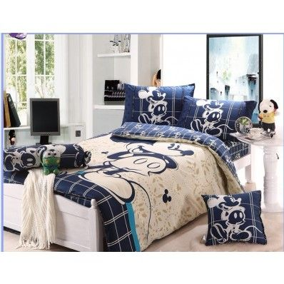 Mickey Mouse Full Bedding For Boys