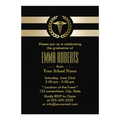 1000 images about black and gold graduation invitations on – Black and Gold Graduation Invitations