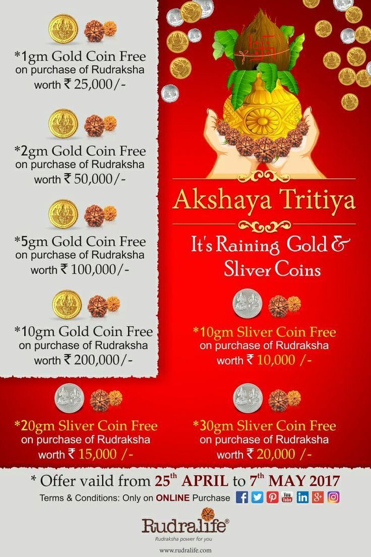 #AkshayaTritiya #offer #Rudraksha #Rudralife www.rudralife.com