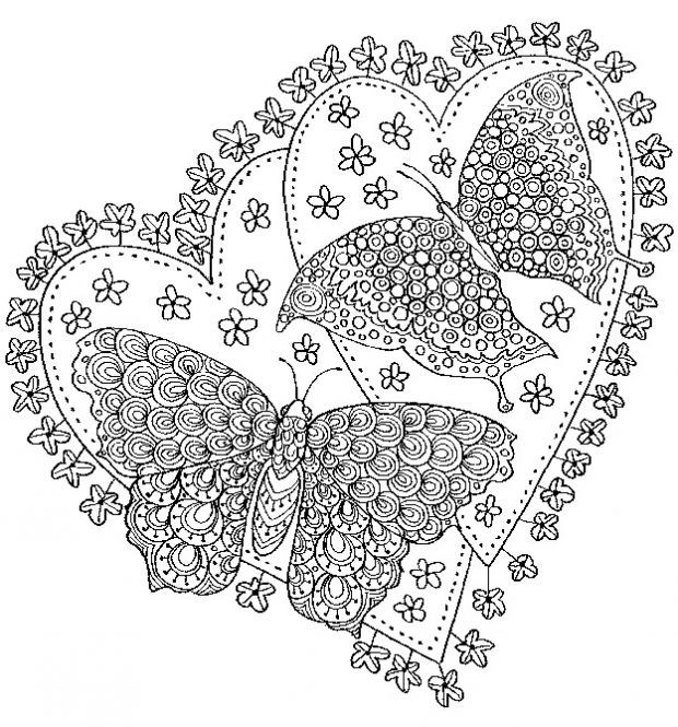 pinstevie doodles on printable adult coloring pages
