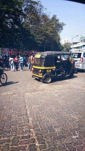 Streets in Mumbai.