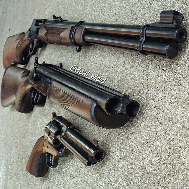 Awesome set of older firearms! Save those thumbs & bucks w/ free shipping on this magloader I purchased mine http://www.amazon.com/shops/raeind No more leaving the last round out because it is too hard to get in. And you will load them faster and easier, to maximize your shooting enjoyment.