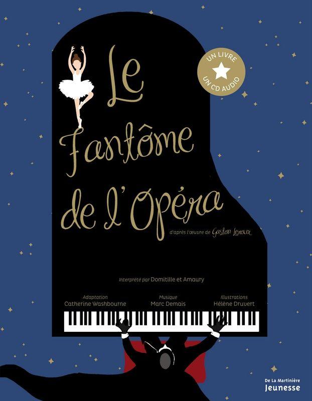 Le Fantôme de l'Opéra, interprété par Domitille et Amaury