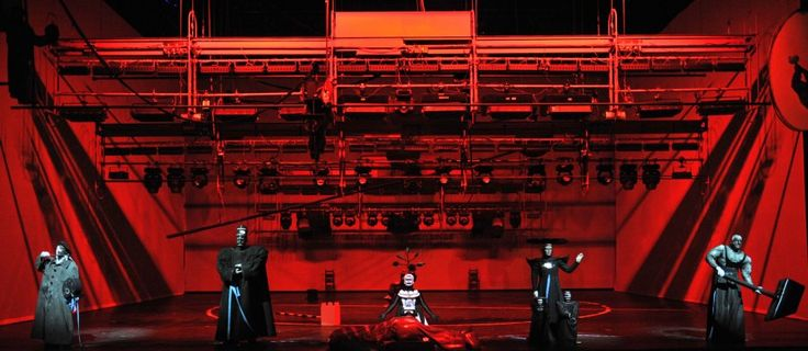 DAS RHEINGOLD  Inszenierung Achim Freyer Nationaltheater Mannheim 2011
