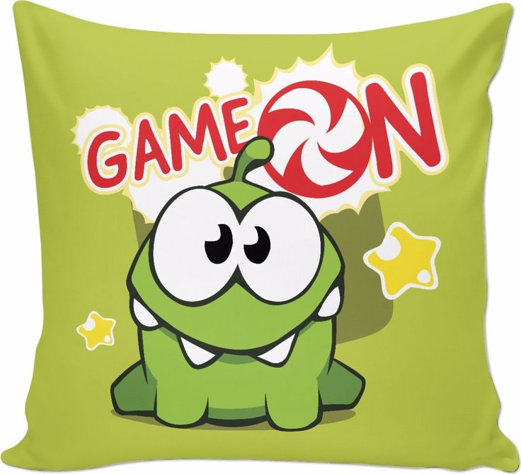 ROCP OM Nom Game On Couch Pillow