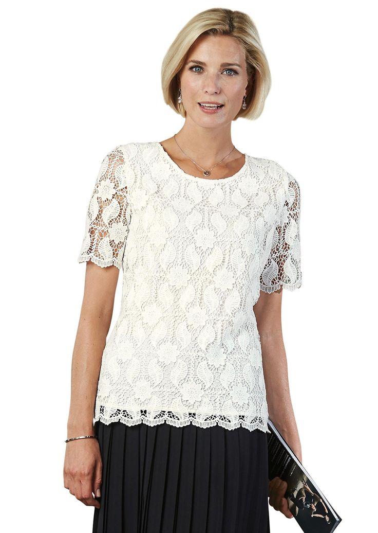 Kanten blouse - Blouses - Damesmode
