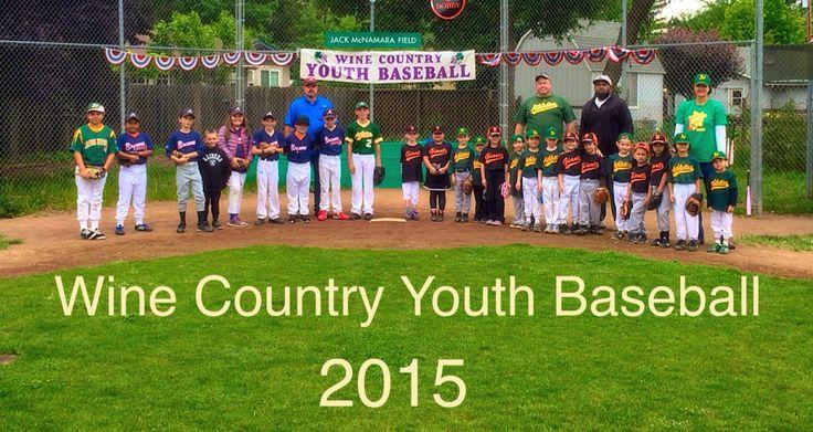 Kenwood, CA's own Wine Country Youth Baseball www.wcyb2015.com