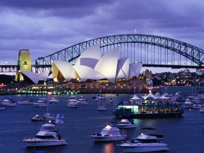 Sydney Opera House: Bucketlist, Sydney Opera Houses, Buckets Lists, Sydney Harbour Bridges, Dreams Vacations, Sydney Australia, Places I D, New Years, Steel Arches Bridges