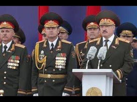 Лукашенко в Белоруссии устроил парад в День независимости страны.