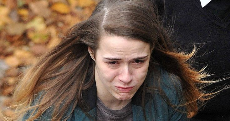 Gayle Newland, 25, sobbed hysterically as she was locked up by same judge who caged child abuser for four years and eight months