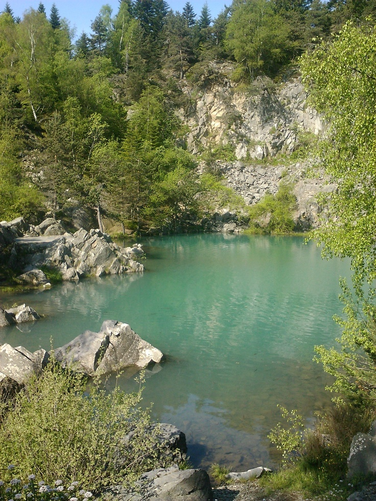 Blue Lake. Auvergne