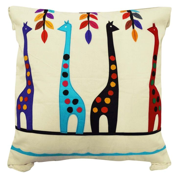For $19.99 give your kid's #room a fresh look with this animal theme cushion cover. The kids will #love it.