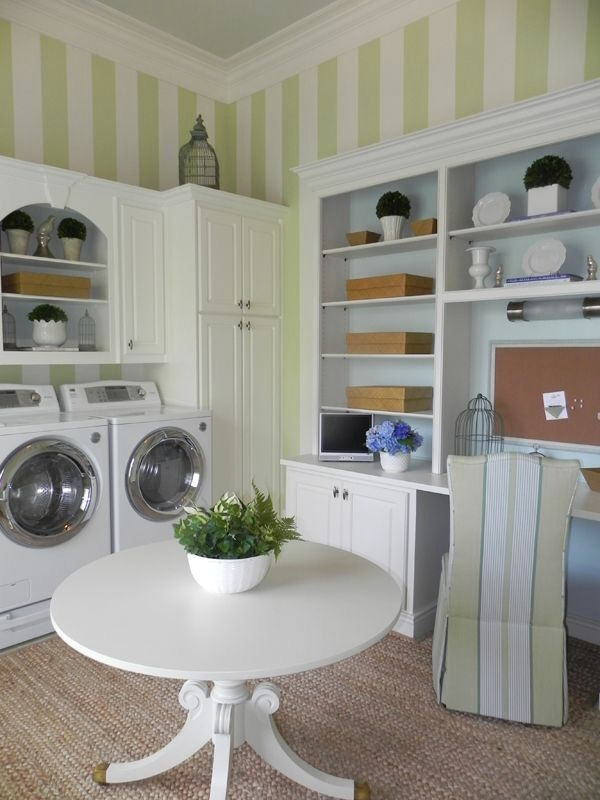 142 best images about for the home laundry mudrooms for Laundry room office