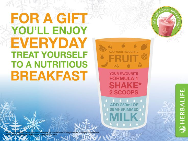 Healthy Nutritional Breakfast everyday. www.lmfvitality.co.uk