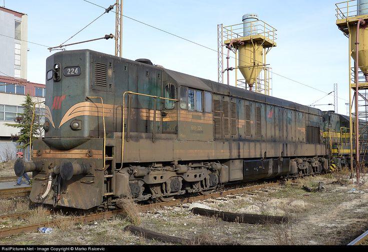 RailPictures.Net Photo: ZS 661-224 ZS - Zeleznice Srbije EMD G16 at Belgrade, Serbia and Montenegro by Marko Raicevic