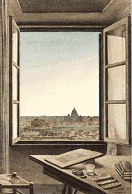 La fenêtre ou les yeux de l'âme - ©Constant Moyaux