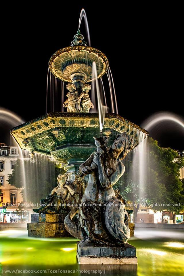 Fonte do Rossio (Praça D. Pedro IV), Lisboa - Portugal