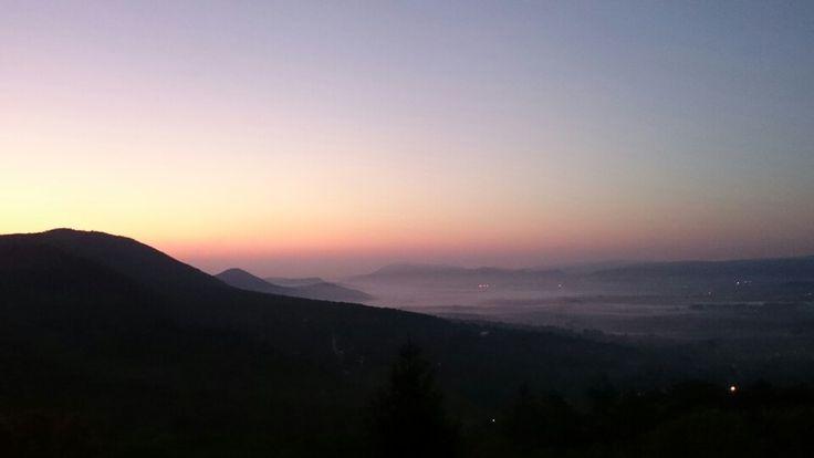 Sunrise in Pilis