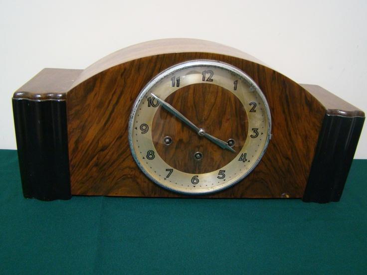 Reloj carrillon junghans art deco a la venta relojes - Relojes antiguos de mesa ...