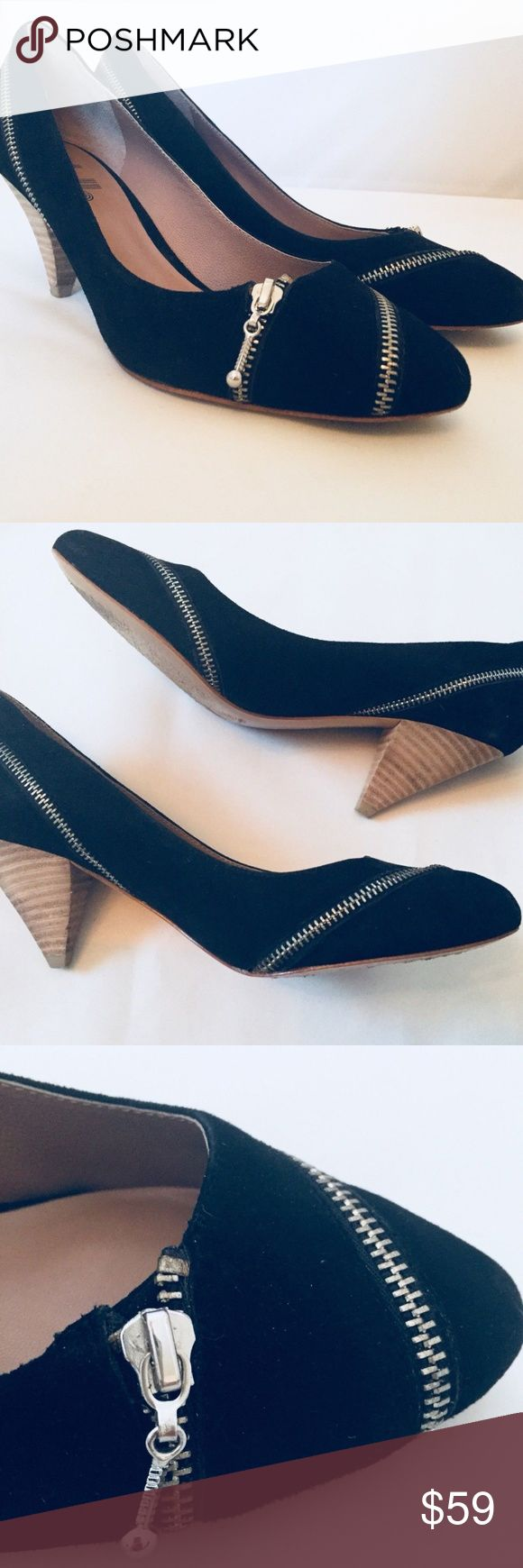 I just added this listing on Poshmark: Belle by Sigerson Morrison Pump Black Suede 6. #shopmycloset #poshmark #fashion #shopping #style #forsale #Belle by Sigerson Morrison #Shoes