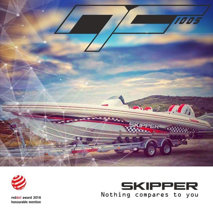 """Enjoy with us the Power and the Sophisticated design line, only with a SKIPPER NC 100S..  """"Red dot honorable mentioned""""  https://www.facebook.com/CharisMerkatisRIBandPOWERboatsales/?ref=aymt_homepage_panel"""