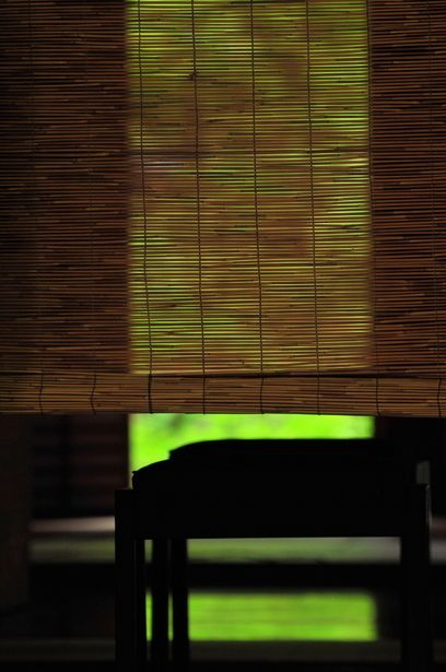Japanese bamboo screen, Misu 御簾