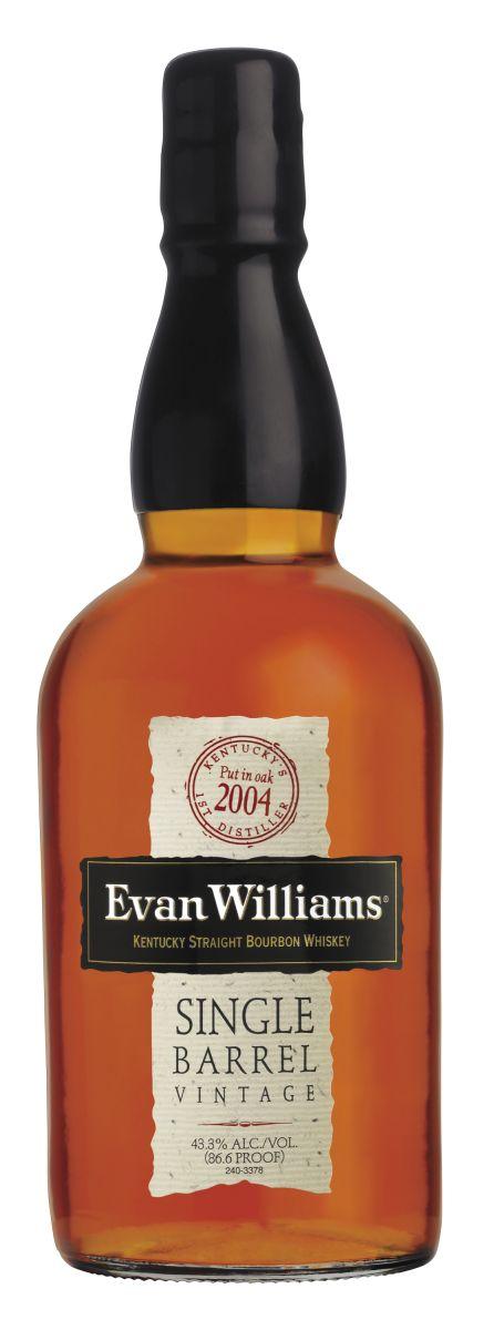☆ Evan Williams Single Barrel Kentucky Straight Bourbon Whiskey 2004 Vintage ☆