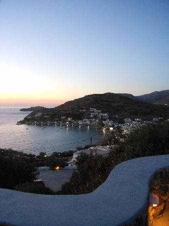 Kini Village @ Syros Island, August 2011!    ( view from Pino di Loto)