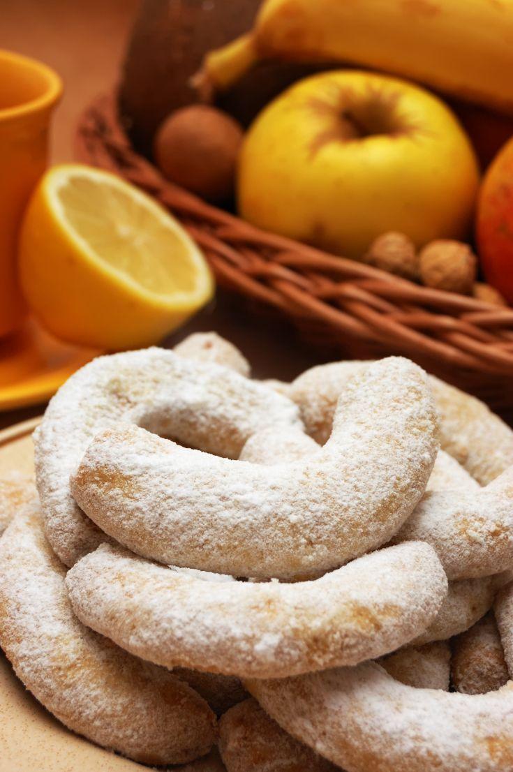 Pomarančovo-vanilkové rožteky