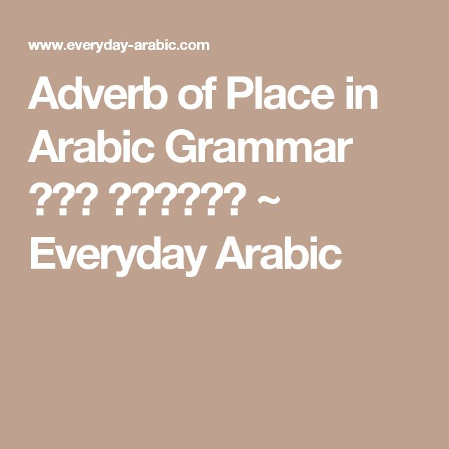 Which Dialect of Arabic Should You Learn? - I Kinda Like ...