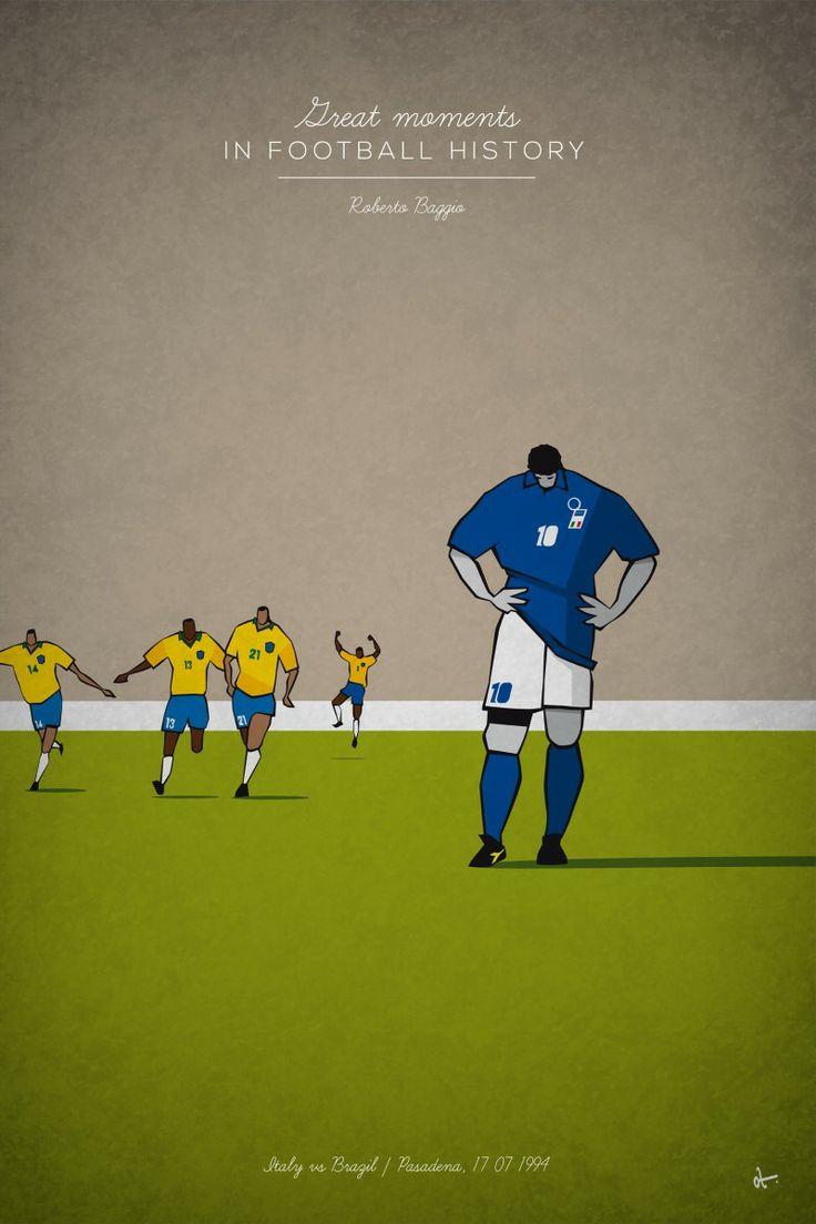 Italy vs Brazil / Pasadena, 17.07.1994 - Great moments in football history by Osvaldo Casanova