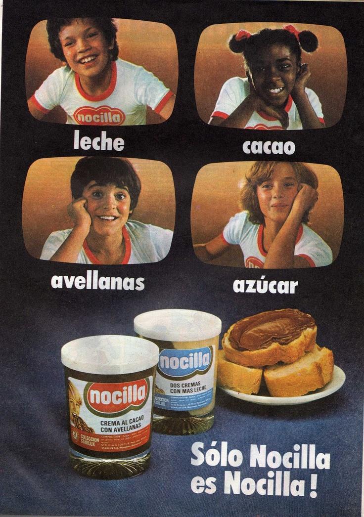 Leche, cacao, avellanas y azúcar... NOCILLA!!: