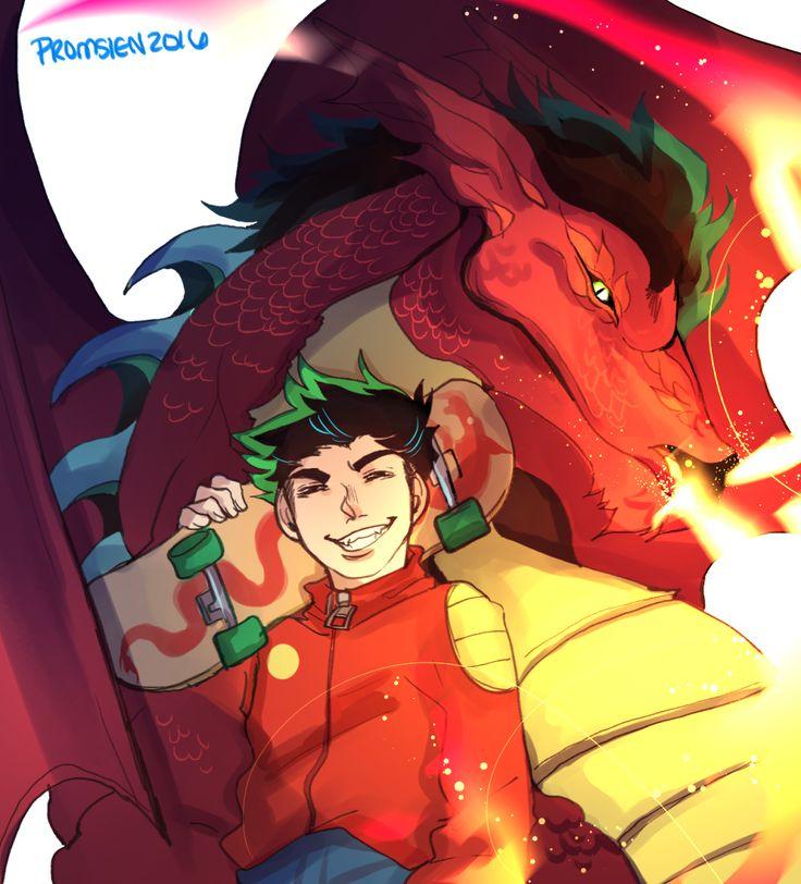 dragon comic Jake long american