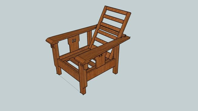 17 Best Images About Morris Chair Plans On Pinterest