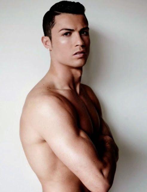 Die gezupften Augenbrauen von Cristiano Ronaldo