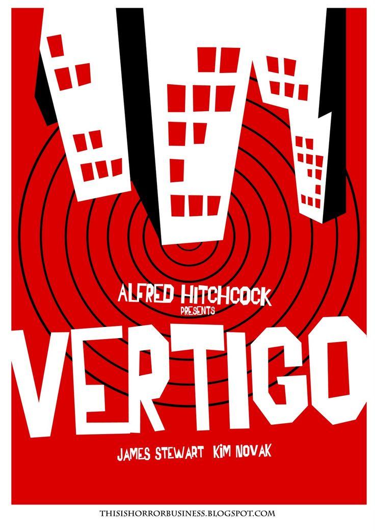 Saul Bass, Vertigo Poster. I love me some Saul Bass.