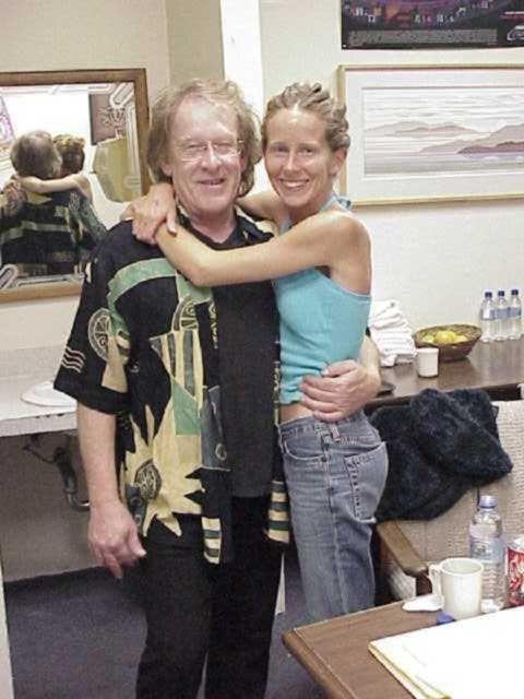 Image result for China Kantner Isler with her father Paul Kantner