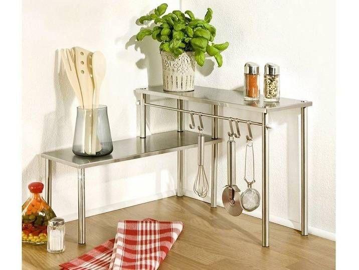 Wenko Eckregal Stainless Steel Kitchen Shelves Home Decor