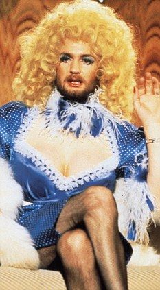 Kenny Everett - I used to laugh at my parents laughing at this. No clue what I was really laughing at.